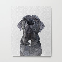 Chief the Mastiff Metal Print