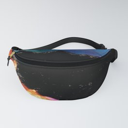 Mountainside Abstract Fanny Pack