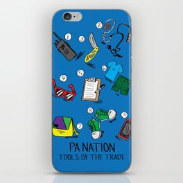 PA Nation - Tools of the Trade iPhone Skin