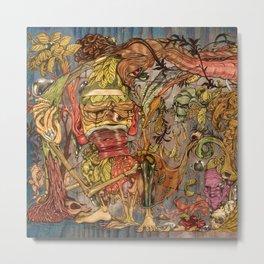 imaginations mind (Tree of  life) Metal Print