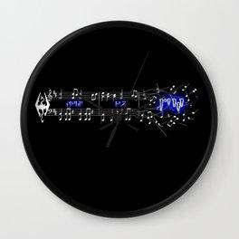 FUS RO DAH Wall Clock
