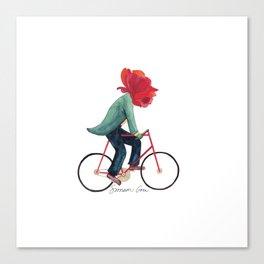 Mr. Rose Pedals Pun Canvas Print