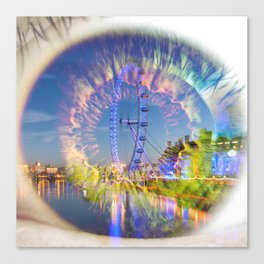 Third Eye Ferris Wheel Ride Canvas Print