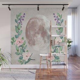 Vanilla Floral D. Wall Mural
