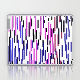 Design ethnic lines on white Laptop & iPad Skin