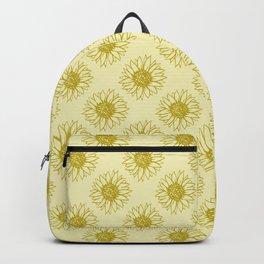 Sunflower Golden Fields Backpack