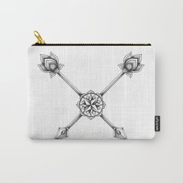 Ornate Arrows Carry-All Pouch