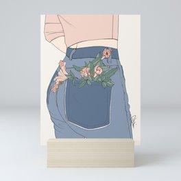 Pot Pants Mini Art Print