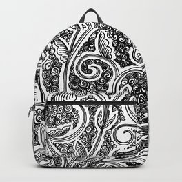 A Floral Rhapsody Backpack
