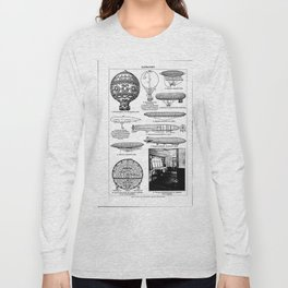 Airships / Air Balloons II Long Sleeve T-shirt