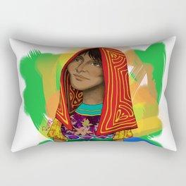 Ustup - kuna/guna girl Rectangular Pillow