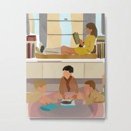 Susie Reading, Sean Early // Moonrise Kingdom(2012), Wes Anderson Metal Print