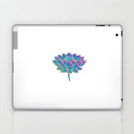 Blue Rainbow Lotus Holly Flower Laptop & iPad Skin