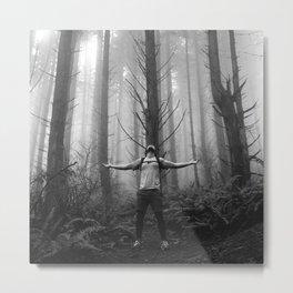 Metal Moment: Woods Metal Print