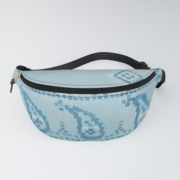 Floral Paisley Border Fanny Pack
