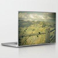 plain Laptop & iPad Skins featuring I'm on a plain by Rachel Bellinsky