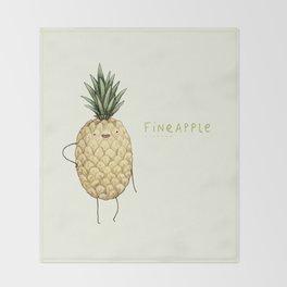 Fineapple Throw Blanket