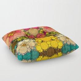 Perky Flowers! Floor Pillow