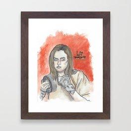 Chapman OITNB Framed Art Print
