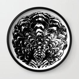 Pangolin in symmetry Wall Clock