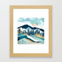 Summer Forest Framed Art Print