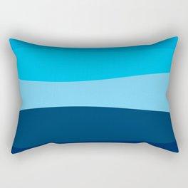 Blue view Rectangular Pillow