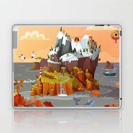 L'île aux copains automne/hiver Laptop & iPad Skin
