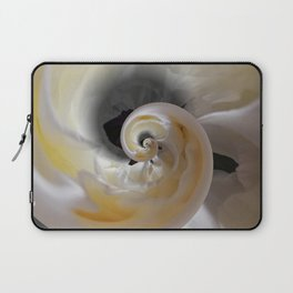silken whirl abstract 3d digital painting Laptop Sleeve