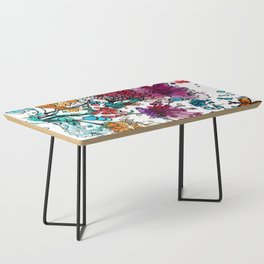 Floral watercolor abstraction Coffee Table