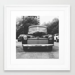 Too Young Framed Art Print