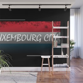 Luxembourg City Wall Mural