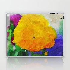 Color of Pansies Writ Large Laptop & iPad Skin