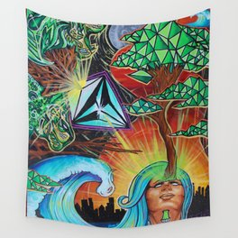Ego Death Wall Tapestry