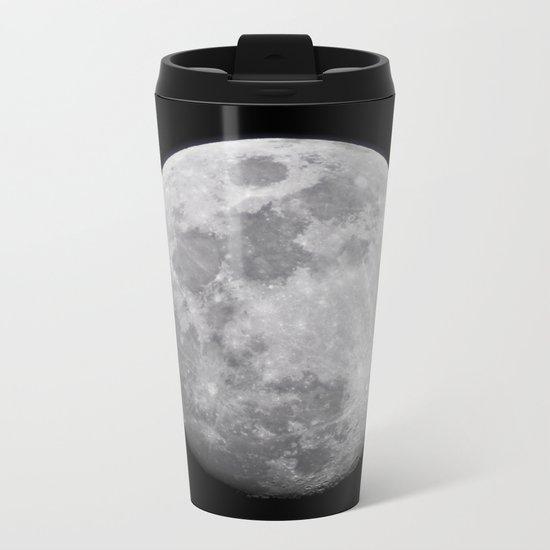 Moon #lunar Metal Travel Mug