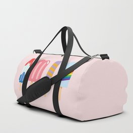 Popsicles - Four Pack Pink #267 Duffle Bag