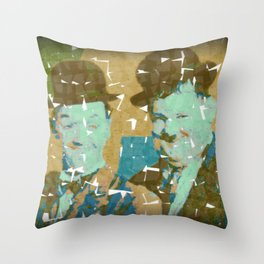 No Laurel Without Hardy Throw Pillow