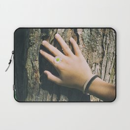 Hand Paquerette Laptop Sleeve