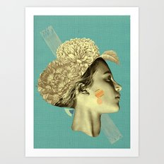 please don't leave me to remain Art Print