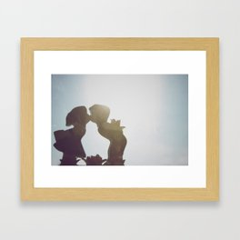 Kisses and Gifts Framed Art Print