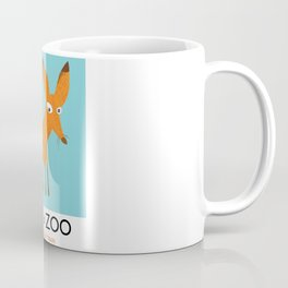 Visit the Zoo Fox edition Coffee Mug