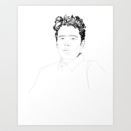 James Franco  Art Print