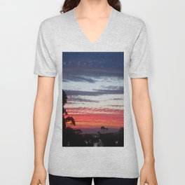 Freycinet Sunset Unisex V-Neck