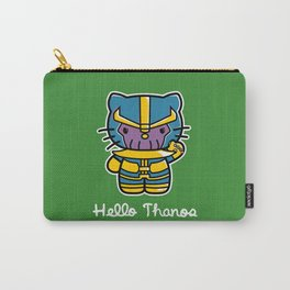 Hello Thanos Carry-All Pouch