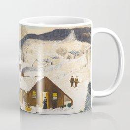 Anna Mary Robertson 'Grandma' Moses Sugaring Off American Folk Art Coffee Mug