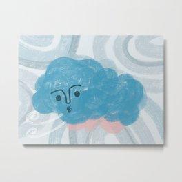 Cloudy Day Metal Print
