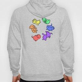 Rainbow Puppies - Loop Hoody