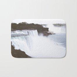 Niagra Falls on film Bath Mat