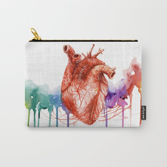 Let your heart lead the way Carry-All Pouch