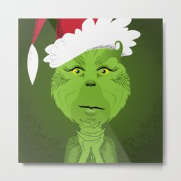 How The Grinch Stole Christmas Metal Print