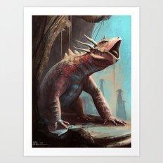 Dino redesign Art Print